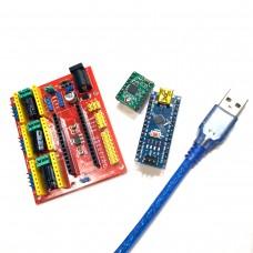Комплект Arduino Nano v3 и CNC Shield V4.0 компоненты