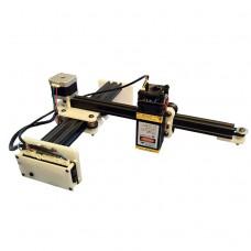 Настольный лазерный гравер мини 200/5500 спереди